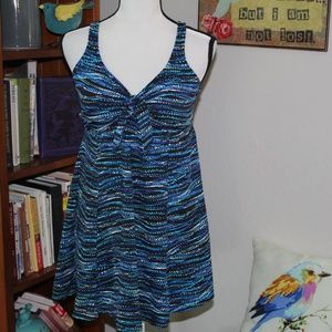 Croft & Barrow size 16 one piece Swimsuit
